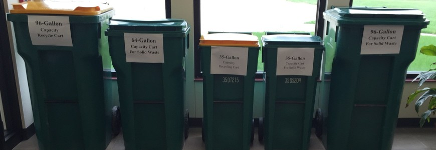 Changes to Solid Waste and Recycling Collection